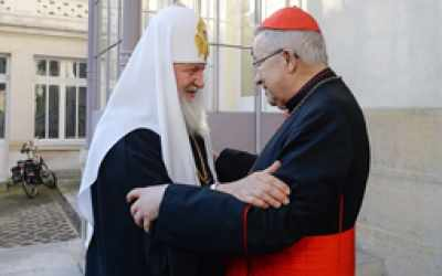 La visita a Parigi del patriarca di Mosca