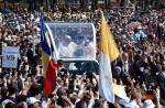 viaggio romania beatificazione vescovi martiri
