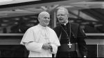 Adrianus Simonis con Giovanni Paolo II nel 1985